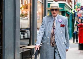 how to dress like a londoner elderly