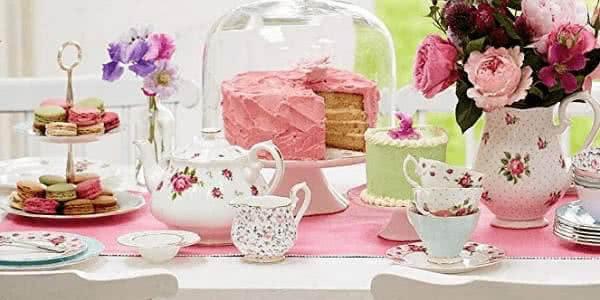 tea time in Britain tea party